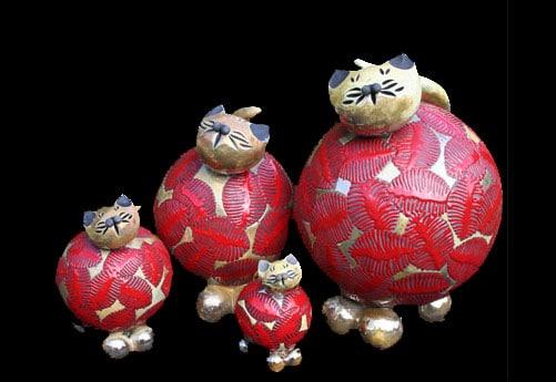 chat céramique sophie reato-1