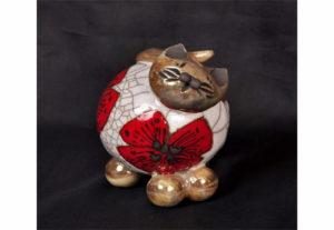 chat céramique sophie reato-2