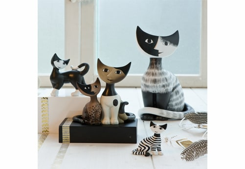 chats figurines goebel