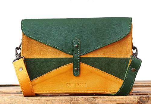 petit sac cuir bicolore paul marius