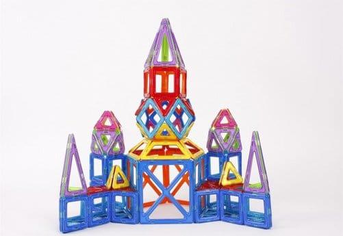 chateau éveil enfants magformers : jouets pour enfants
