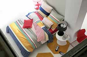 linge de lit blanc des vosges