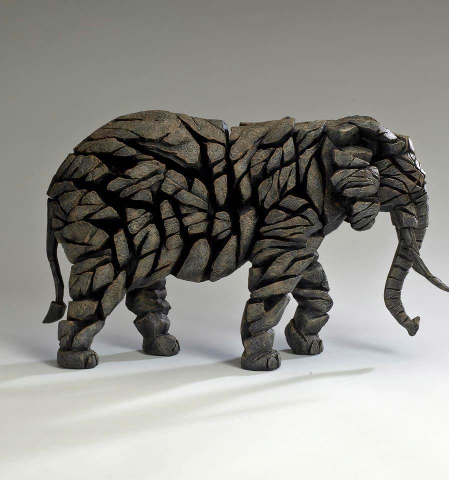 Edge sculpture, éléphant