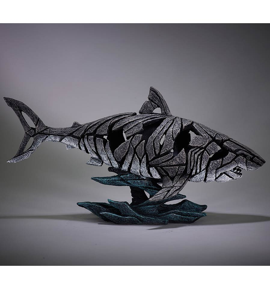 Edge sculpture, requin