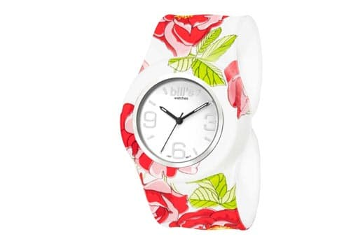 bills watches : montre classique rose