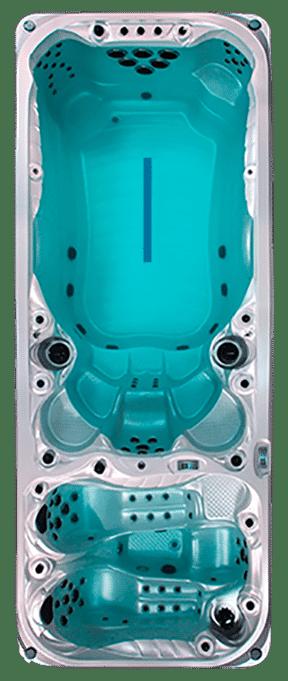 Spa de nage - Double bassin - Duce