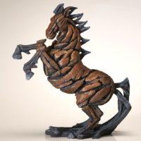 Buste de cheval, réalisé par Edge sculpture- Ref ED07