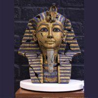 Buste de Toutankhamon, réalisé par Edge sculpture- Ref EDB26