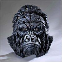 Buste de gorille, réalisé par Edge sculpture- Ref EDB05