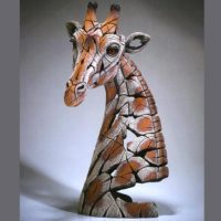 Buste de girafe, réalisé par Edge sculpture- Ref EDB24