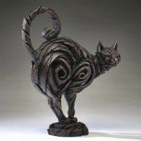 Chat noir, réalisé par Edge sculpture- Ref ED10B
