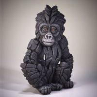 Bébé gorille, réalisé par Edge sculpture- Ref ED36