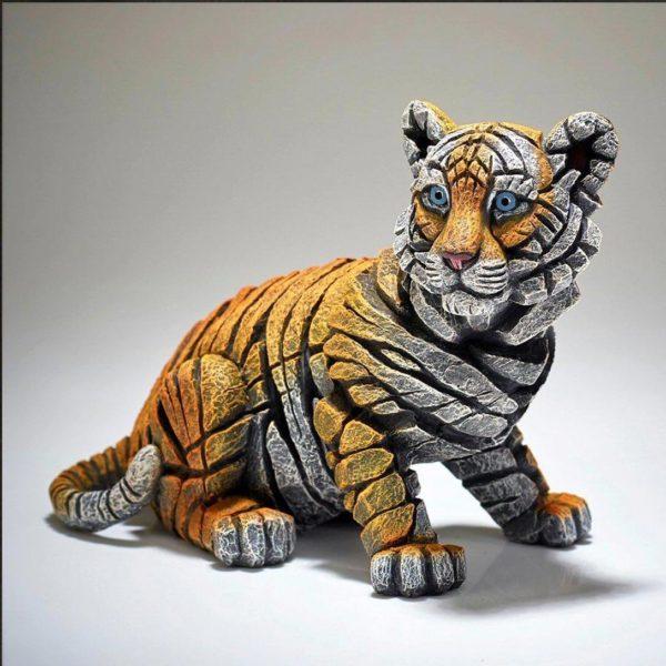 Bébé tigre, réalisé par Edge sculpture- Ref ED29