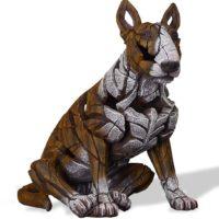 Bull terrier, réalisé par Edge sculpture- Ref ED23