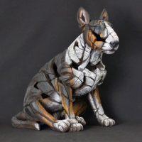 Bull terrier, réalisé par Edge sculpture- Ref ED23T