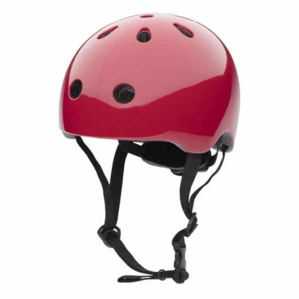 Casque de vélo rouge pour enfant, à partir de 15 mois