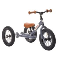 Draisienne anthracite + kit tricycle de marque Trybike