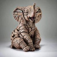 Eléphanteau, réalisé par Edge sculpture- Ref ED35