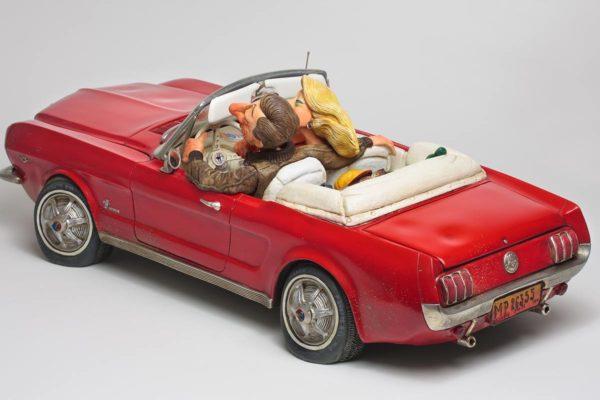 Ford mustang 65, réalisé par Guillermo Forchino- ref 85079