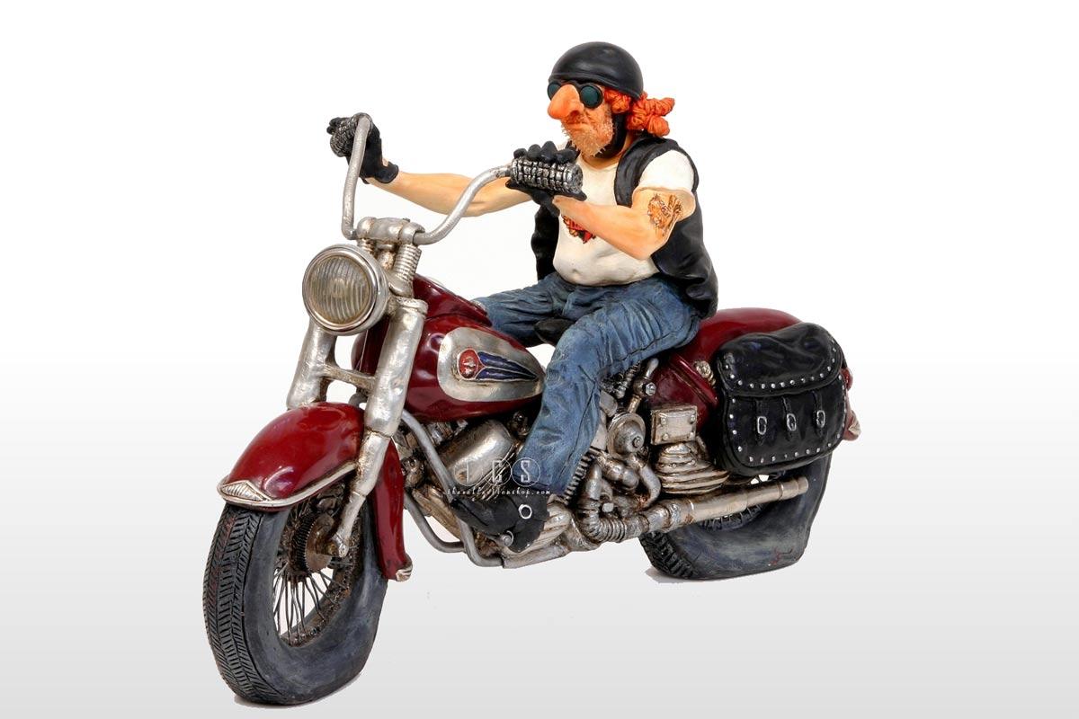 Le biker, réalisé par Guillermo Forchino- ref 85031