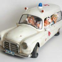 L'ambulance, réalisé par Guillermo Forchino- ref 85074