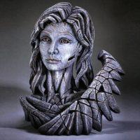 Buste d'ange pierre Sculpture EDGE-EDB25