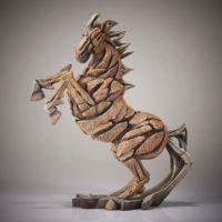 Buste de cheval cabré, Edge sculpture, référence ED07