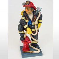 Le pompier, cadeau pour un pompier par guillermo forchino